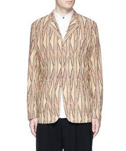Uma Wang | Simba Tribal Stripe Cotton Soft Blazer