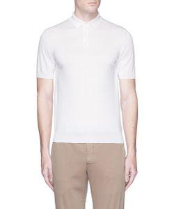 Lardini | Cotton Knit Polo Shirt