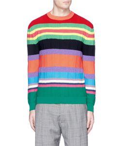 Paul Smith   Stripe Bouclé Sweater
