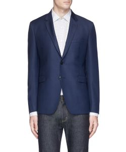 Paul Smith | Kensington Wool Hopsack Soft Blazer