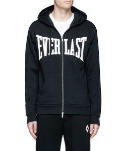 Ports | X Everlast Logo Appliqué Zip Hoodie
