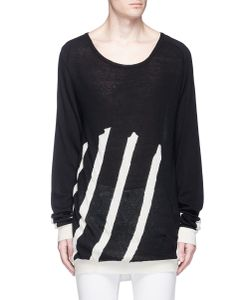 Haider Ackermann | Stripe Cotton-Cashmere Sweater