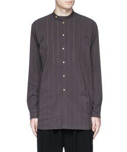 Uma Wang | Martino Stripe Stitch Cotton Shirt
