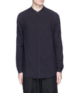 Ziggy Chen | Mandarin Collar Cotton Shirt