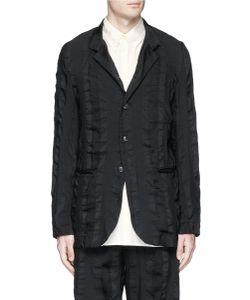Uma Wang | Alfio Stripe Patchwork Soft Blazer