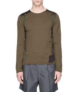 Comme Des Garçons | Camouflage Patchwork Sweater