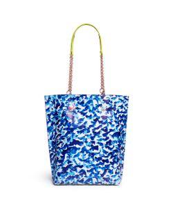 Sophia Webster | Izzy Oceana Print Leather Tote Bag