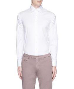 Lardini | Stretch Twill Shirt