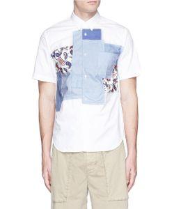 Comme Des Garçons Homme Plus | Paisley Patchwork Cotton Lawn Shirt