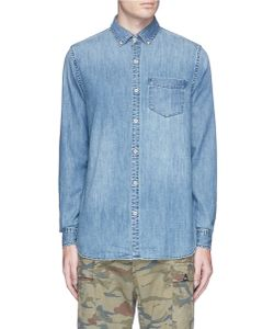Denham | Cotton Chambray Shirt