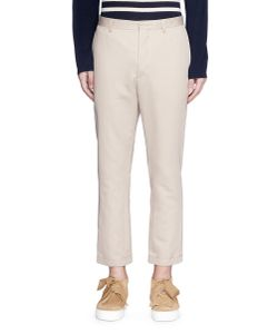 Ports | Cropped Twill Pants