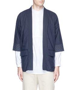Wooster + Lardini | Poplin Kimono Blazer