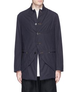 Ziggy Chen | Contrast Detachable Hem Poplin Jacket