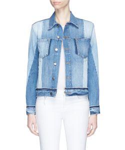 Frame Denim | Nouveau Le Jacket In Washed Denim