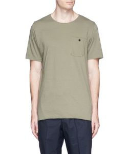 Bassike | Patch Pocket Organic Cotton T-Shirt