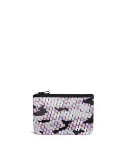 Pierre Hardy | Camocube Print Canvas Zip Pouch