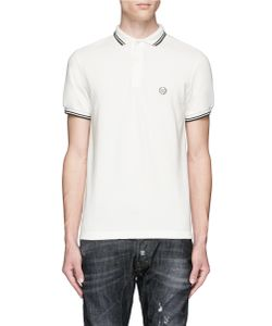 R13 | Contrast Tipping Cotton Polo Shirt