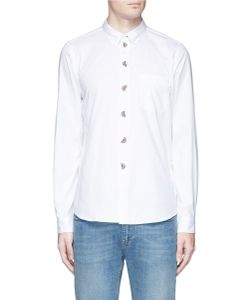 PS Paul Smith | Watermelon Embroide Oxford Shirt