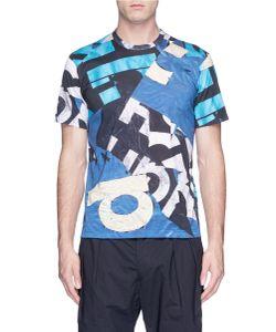 Comme Des Garçons Homme Plus | Graphic Logo Print T-Shirt