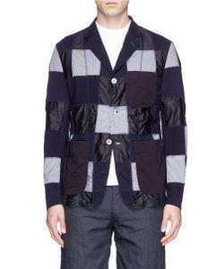 Comme Des Garçons Homme Plus | Patchwork Jersey Soft Blazer