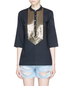 Figue | Jasmine Sequin Bib Tunic