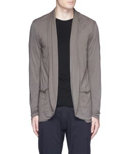Attachment | Shawl Collar Cotton Jersey Cardigan