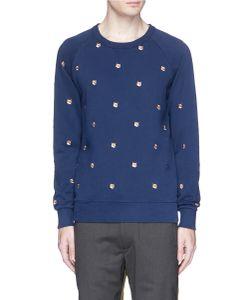 Maison Kitsuné | Fox Head Embroidered Sweatshirt