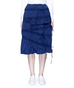 Angel Chen | Drawsing Gathered Midi Skirt