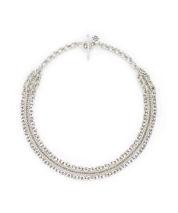 Philippe Audibert | Oliver Tiered Mix Chain Necklace