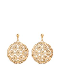 Philippe Audibert | Lacey Floral Cutout Drop Earrings