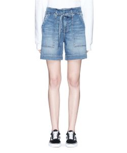 Current/Elliott | The Chore Belted Denim Shorts