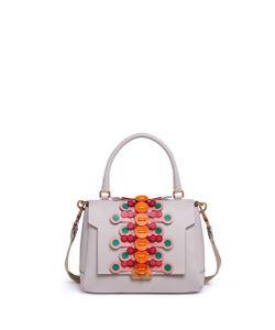Anya Hindmarch | Bathurst Flip Small Geometric Strap Leather Satchel