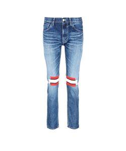 Facetasm | Wool Knit Insert Cotton Jeans