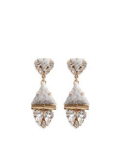 Anton Heunis | Swarovski Crystal Vintage Stone Pendant Earrings