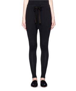 Bassike | Dropped Crotch Slim Fit Jersey Pants