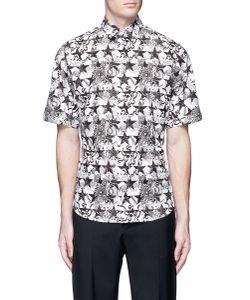 Ports | Star Floral Print Short Sleeve Poplin Shirt