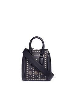 Alexander McQueen | Heroine Small Embellished Leather Crossbody Bag