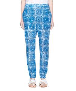 Lemlem   Makena Radial Print Woven Cotton Pants