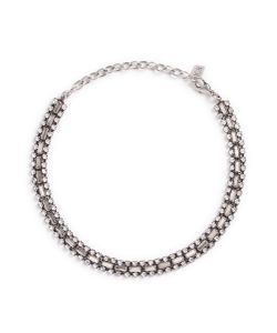 Dannijo | Jihan Swarovski Crystal Collar Necklace