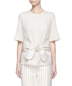 Victoria, Victoria Beckham | Tie Front T-Shirt