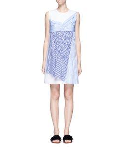 Victoria, Victoria Beckham | Gathered Panel Crepe Shift Dress
