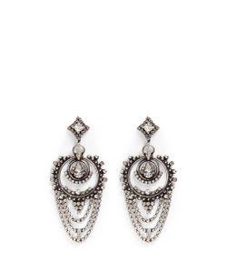 Dannijo | Rosalie Swarovski Crystal Drop Earrings