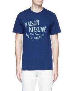 Maison Kitsuné | Palais Royal Print Cotton T-Shirt