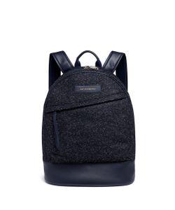Want Les Essentiels De La Vie   Kastrup Mélange Wool Backpack