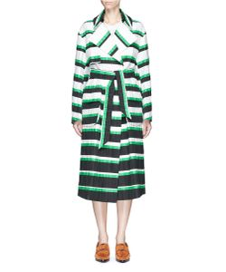 Emilio Pucci | Oversized Stripe Coat