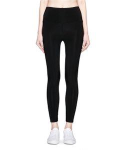 Norma Kamali | Stretch Jersey Cropped Leggings