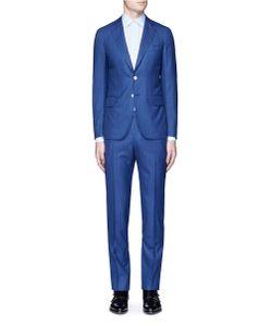 Isaia | Cortina Pinstripe Wool Suit