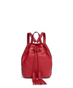 Rebecca Minkoff   Isobel Small Drawstring Tassel Leather Backpack