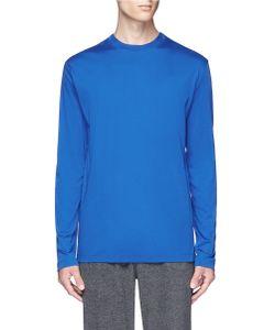 T by Alexander Wang   Mercerised Cotton Long Sleeve T-Shirt