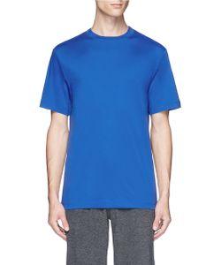 T by Alexander Wang   High Neck Mercerised Cotton T-Shirt